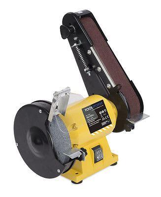bench grinder with sanding belt 150mm bench grinder linisher sanding grinding wheel belt