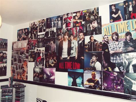 the bedroom band all time low posters bands music bedroom decor