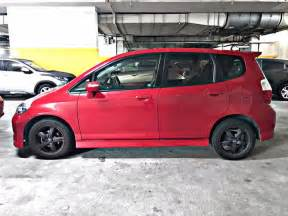 Car Rental Singapore Honda Fit Honda Fit Hatchback For Rental Singapore