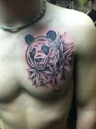 panda chest tattoo tumblr cool panda bear chest tattoo tattoomagz