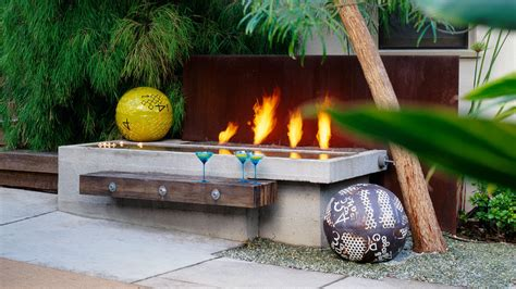 bench on fire fire pit with log benches benches