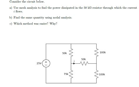 nodal analysis voltage across resistor voltage across resistor using nodal analysis 28 images find the unknown node voltage using