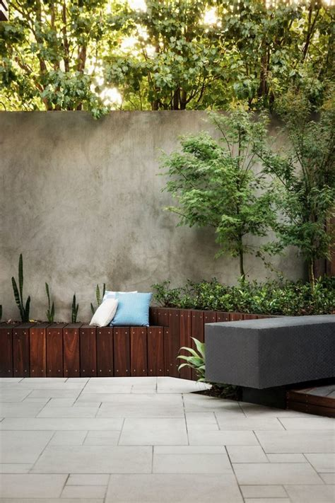 patio wall planters inspirations on modernizing the garden with planters