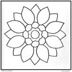 Simple Mandala Coloring Pages Coloring Home Simple Coloring Pages To Print