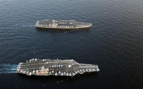 portaerei americane dove sono le portaerei americane nel mondo