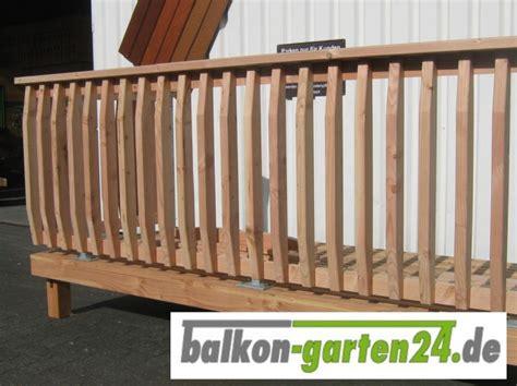 Treppengeländer Holz Preise by Holzbalkon Denver 1 Balkon Garten24 De