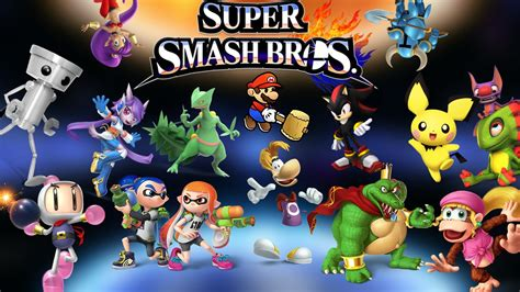 top 5 characters that need to be on smash bros 5