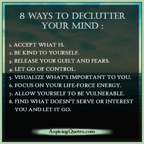 15 Ways To Declutter Your Mind by Don T Allow Negative To Your Inner Peace