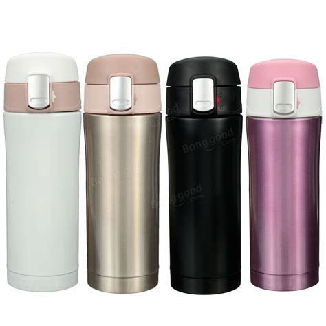Vacuum Bottle Termos Stainless Shuma 350ml Cool 350ml stainless steel thermos travel mug vacuum flask bottle coffee tea insulated cup at banggood