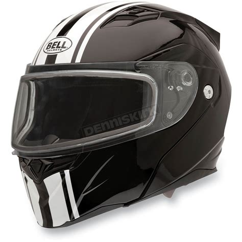 Helm Bell Revolver Evo bell helmets rally black revolver evo snow helmet 2035567 snowmobile dennis kirk inc
