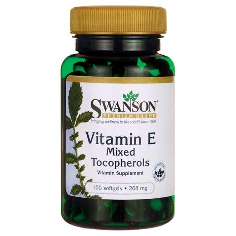 Nutracare Vitamin E Mixed Tocopherols 400 Iu swanson premium vitamin e mixed tocopherols 400 iu 268 mg