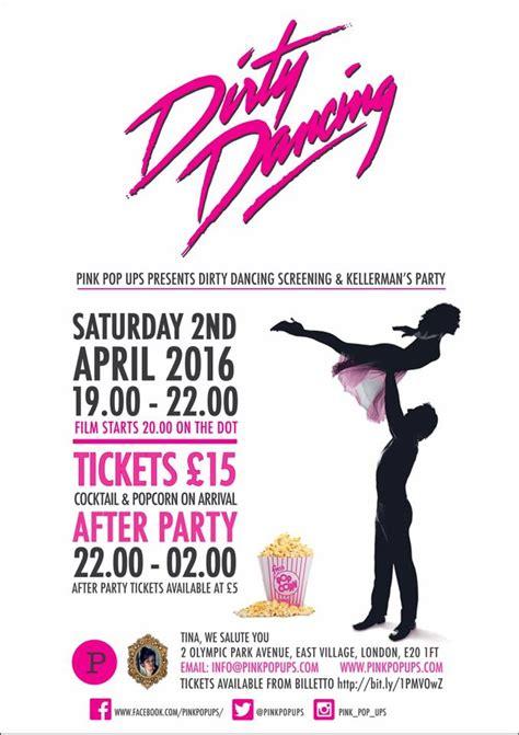kellermans in dirty dancing pop up dirty dancing kellerman s resort party tina we salute you e20 london designmynight