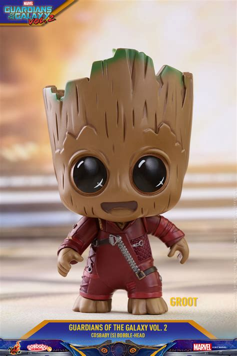 Cosbaby 360 Groot Set Of 3 Guardian Of The Galaxy Vol 2 Toys disney plastic and plush