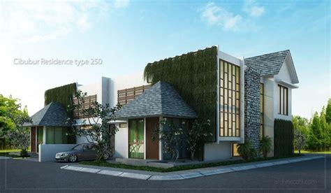 desain rumah sudut hook minimalis  lantai type  desain rumah lebar  meter desain rumah