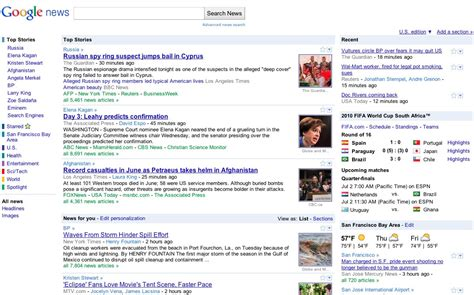 google news local section official google blog extra extra google news redesigned