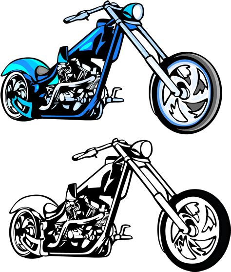 motorcycle clipart motorcycle chopper clipart clipart panda free clipart