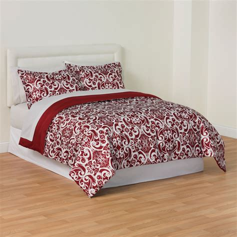 kmart comforter sets essential home 3 piece microfiber comforter set