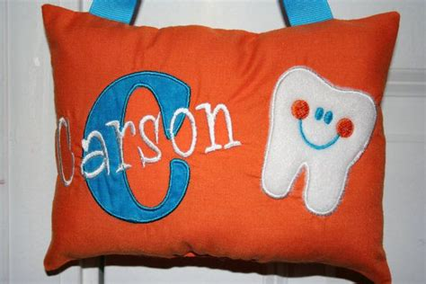 tooth pillow for boys by sanddstitches on etsy 22