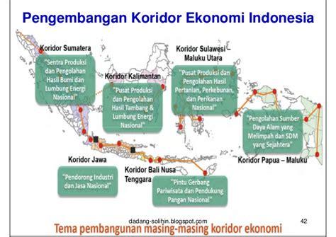 Membangun Kalimantan Potensi Ekonomi Daerah Pusat Pertumbuhan Dan Str strategi pembangunan ekonomi nasional