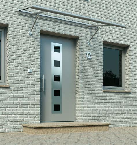 vordach aluminium haust 252 r vord 228 cher aus aluminium