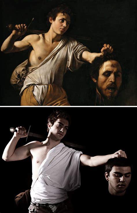 caravaggio davide con la testa di golia pin by progetto didatticarte on tableaux vivants living