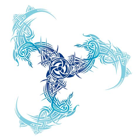 trinidad tattoo designs tribal color blue by irina baiken on deviantart