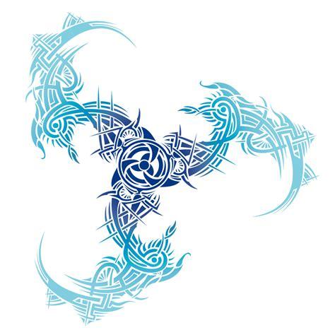 trinidad tattoo designs tribal color blue by irina baiken on deviantart
