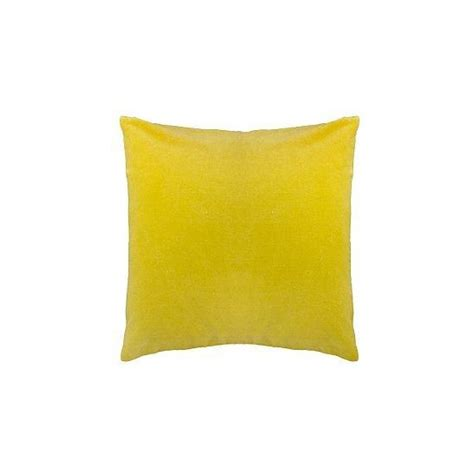 Yellow Velvet Cushion velvet cushion from lewis yellow accessories
