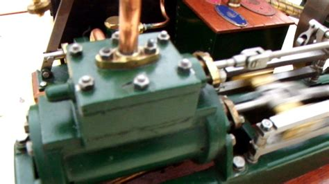 stuart twin victoria live steam engine at ataf club tessin stuart turner victoria horizontal steam engine and