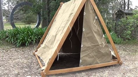 Building A Frame by Constructing A Viking Tent