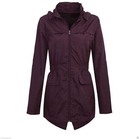 light weight jacket for womens hooded mac lightweight showerproof parka