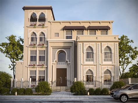 classic elevation design kuwait on behance