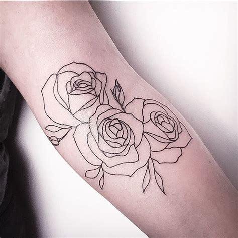 simple rose tattoo outline best 25 rose outline ideas on pinterest simple rose