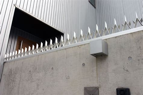 fence spikes security fences