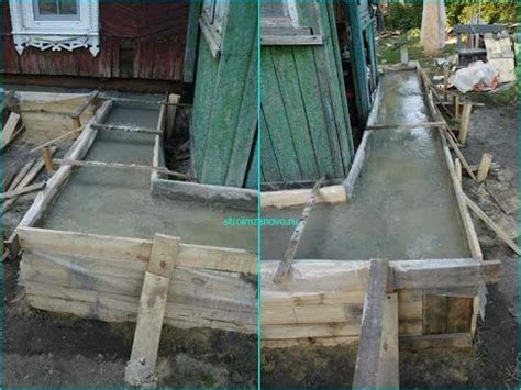 Zementboden Selber Machen by Betonschalung Selber Bauen Fundament Selber Machen