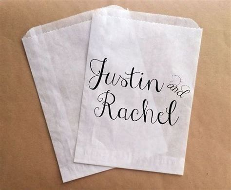 wedding favor candy buffet bags candy favor by