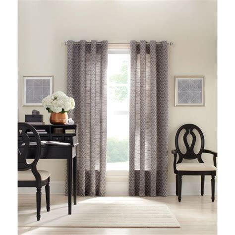 martha stewart grommet curtains martha stewart living zinc diamond sky grommet curtain