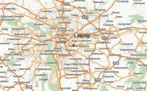Leipzig Germany Map by Leipzig Location Guide