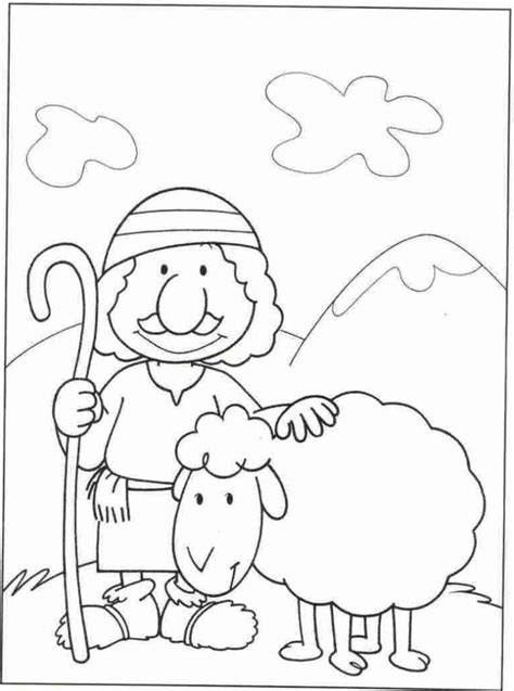 coloring pages jesus the good shepherd good shepherd coloring pages free coloring home