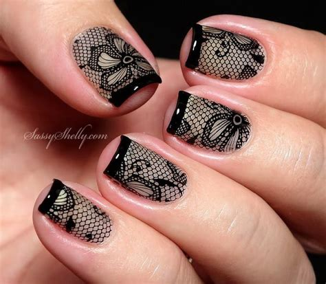 lace pattern nails 20 romantic lace nail designs for creative juice