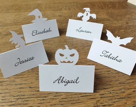 dinner table name cards personalised bat place cards personalized place