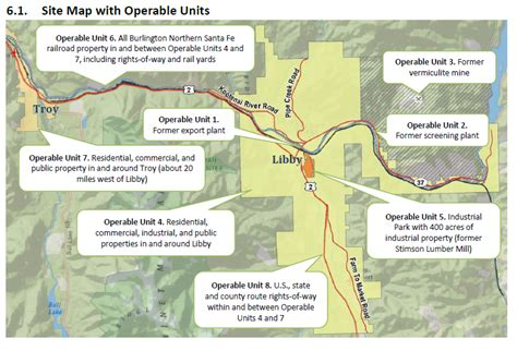 superfund site map epa to special libby protection costs mtpr