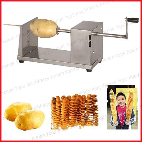 Spiral Potato Slicer Alat Pengiris Kentang twist potato maker alat pengiris kentang bentuk spiral