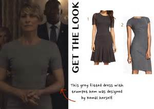 house of cards season 3 fashion what wore chapter
