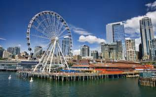 Photo Booth Purchase Seattle S Ferris Wheel At Pier 57 Seattle Great Wheel