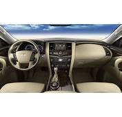 2014 Infiniti QX80 SUV Car Beige Dashboard Interior