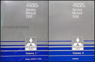 service manual 1991 mitsubishi truck service manual free download service manual automotive 1991 mitsubishi truck repair shop manual set original
