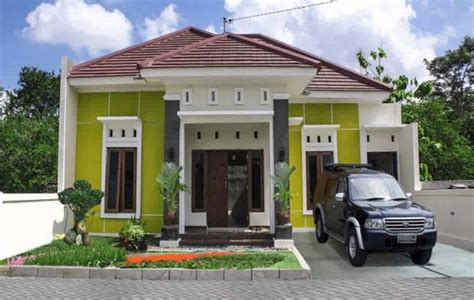 contoh warna cat teras rumah minimalis modern