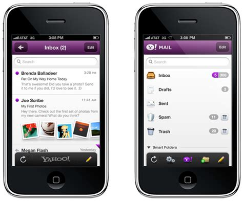 Search Email On Iphone Yahoo Mail Iphone App Image Search Results