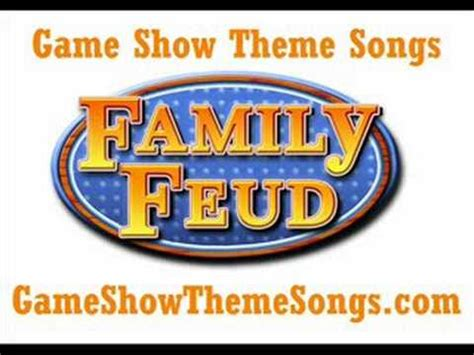 Theme To Family Feud | family feud theme song game show theme songs youtube